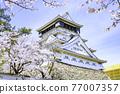 奧古拉城堡是一個美麗的櫻花觀賞時期 77007357