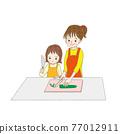 父母和小孩 親子 中式料理 77012911