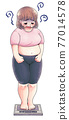 前後 減肥 磅秤 77014578