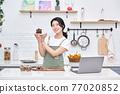 라이프스타일, 주방, 요리, 케익, 여성 77020852