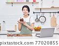 라이프스타일, 주방, 요리, 케익, 여성 77020855