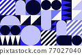 Abstract Geometric Vector Background 77027040