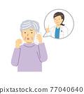 電話 患者 病人 77040640