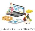 網購 線上購物 網路購物 77047053