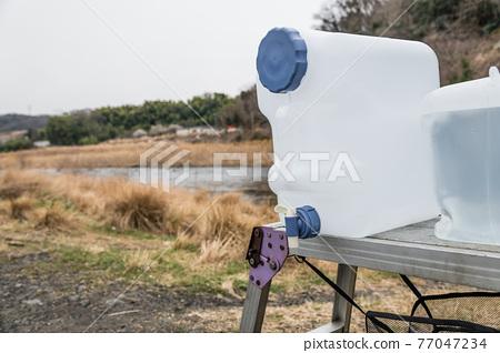 camp, camping, river 77047234