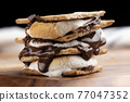 chocolate, choco, marshmallow 77047352