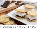 chocolate, choco, marshmallow 77047357