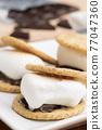 chocolate, choco, marshmallow 77047360