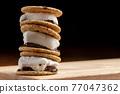 chocolate, choco, marshmallow 77047362