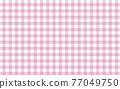 checkered gingham, cheque, design 77049750