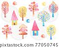 樹木 樹 木頭 77050745