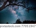 銀河 星空 星星 77051947