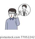 電話 患者 病人 77052242
