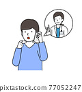電話 護士 患者 77052247