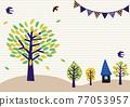 樹木 樹 木頭 77053957