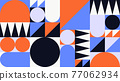 Abstract Geometric Vector Background 77062934