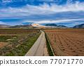 Landscape view in Canada De La Lena, Murcia region in Spain 77071770