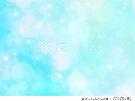 Fantasy bokeh background 77079295