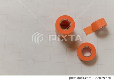 오렌지 마스킹 테이프 77079776