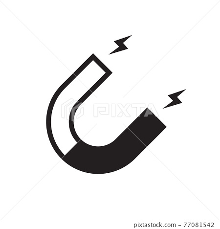 Magnet icon vector for graphic design, logo, web site, social media, mobile app, ui illustration 77081542