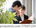 business man, business, a meeting 77097124