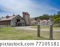 牛棚 牧場 景觀 77105181