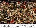 Chuka wakame laminaria seaweed salad with squid 77107670