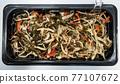 Chuka wakame laminaria seaweed salad with squid 77107672