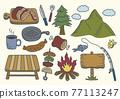 燒烤 營地 露營 77113247