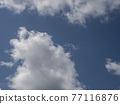 藍天 雲彩 雲 77116876