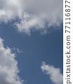 藍天 雲彩 雲 77116877