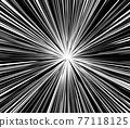 集中線條 漫畫 底圖 77118125