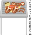 烤肉 戶外 燒烤 77118161