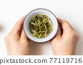 중국 차 세트 Set of the Chinese tea 77119716