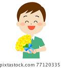 花束 禮物 送禮 77120335