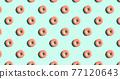 甜甜圈 圖案 樣式 77120643