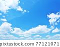 新鮮的夏天藍天 77121071