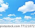 新鮮的夏天藍天 77121072