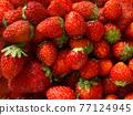 草莓 水果 背景素材 77124945