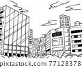 城市 畫線 場景 77128378