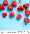 튤립 꽃다발 어머니의 날 선물 튤립 어머니의 날 母 の 日 チ ュ ー リ ッ プ 77130104