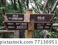 Destination display board of Hyogo Prefectural Kabutoyama Forest Park 77136951
