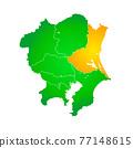 矢量 地圖 日本地圖 77148615