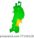 矢量 地圖 日本地圖 77149128