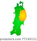 矢量 地圖 日本地圖 77149131