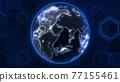 地球儀 土地 土 77155461