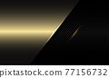 Abstract gold blank space overlap on black circle mesh shadow design modern futuristic luxury background vector illustration. 77156732