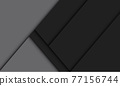 Abstract black grey geometric shadow blank space design modern futuristic background vector illustration. 77156744