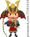 vector, vectors, samurai helmet 77161414