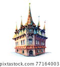 Old house in Poznan, Poland 77164003